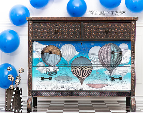 Hot Air Balloons Dresser