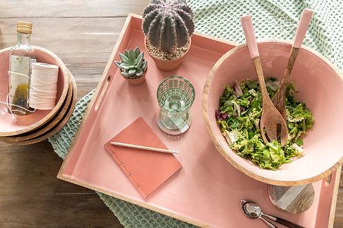 Rose bohemien - Set de salade