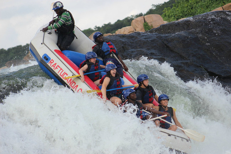 Rafting the Nile