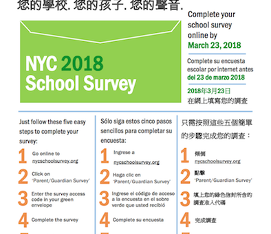 2018 NYC School Survey