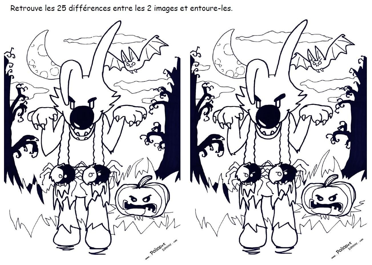 25_différences_-_Poilopat_Halloween