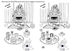 25 différences Poilopat cheminée