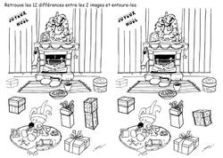 12 différences Poilopat Bb cheminée