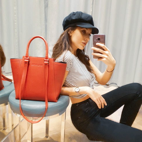 How My Day with a Statement Red Handbag Gave Me Extra Confidence