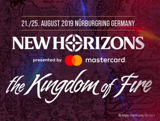 New Horizons Festival, 21. /25. August am Nürburgring