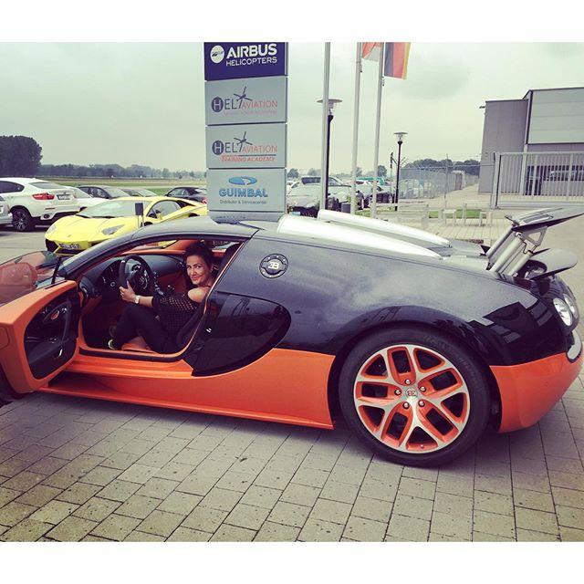 Testfahrt Bugatti
