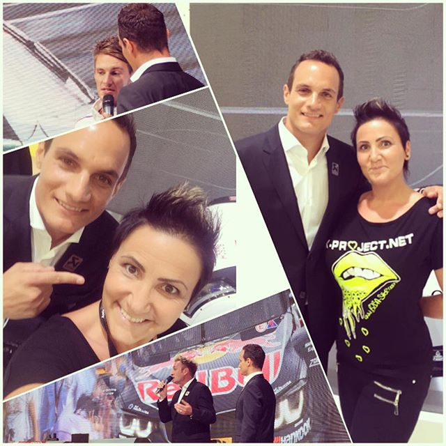 Mk-project meets Alex Hoffmann aswell at the IAA at the presentation of the Akrapovic. It was nice t