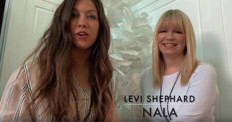 Danielle Rae interviews Levi Shephard ab