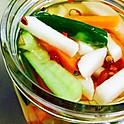 りんご酢ピクルス