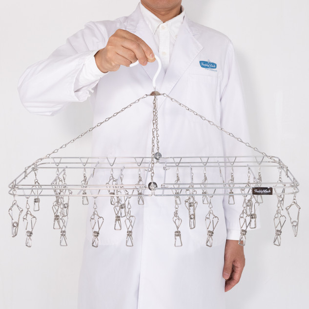 DRYER with PEGS / STAINLESS STEEL  28P