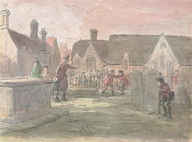 St Andrews churchyard