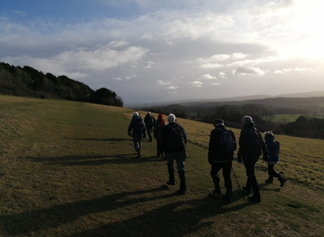 St Martha's to Shere (8 miles)