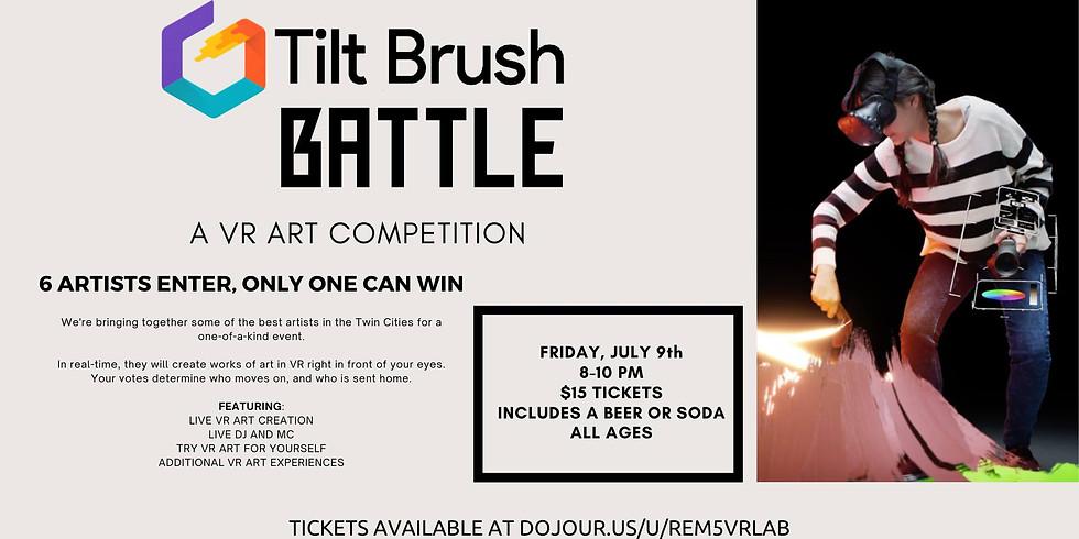 Tilt Brush VR Art Battle
