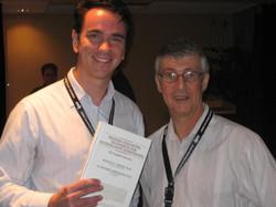 Com Ronald Fischer, o pai da Entrevista Cognitiva (Nicolet, Canadá - Jun-2008)