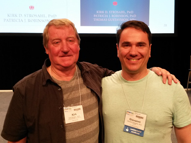 Com Kirk D. Strosahl (Berlin, ACBSWC 2015).jpg
