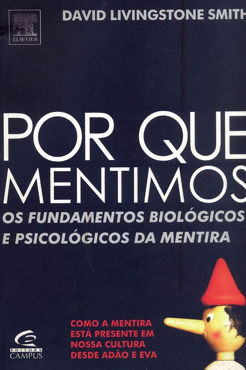Por que mentimos? (ebook)