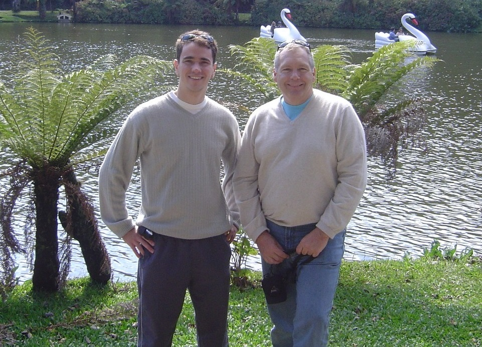 Giovanni e Dobson Lago Negro (retrato)