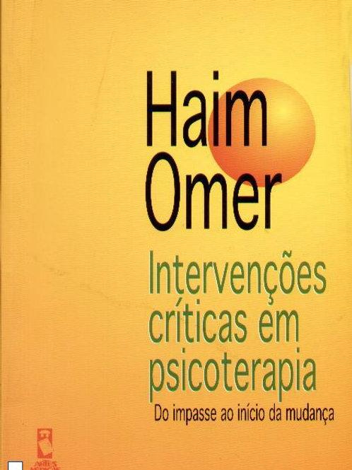 Intervenções Críticas em Psicoterapia (ebook)