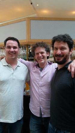 Com Joseph Ciarrochi e Russ Harris (Berlin, ACBSWC 2015)