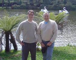 Giovanni e Dobson Lago Negro