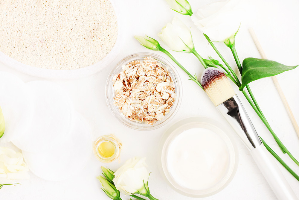 Oatmeal soothes the skin and naturally cleanses and exfoliates.