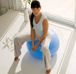 Balle de yoga