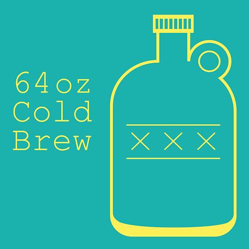 64 oz Cold Brew