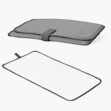 1x padded changing mat
