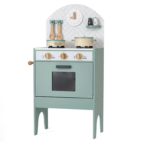 Play Kitchen with 7 Utensils - Mint