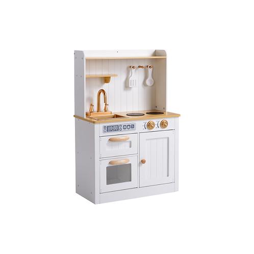Vintage Play Kitchen - White/Gold