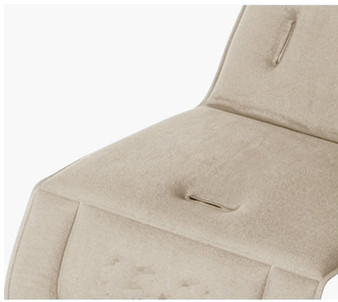 Padded seat liner
