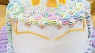 A Magical Unicorn Cake