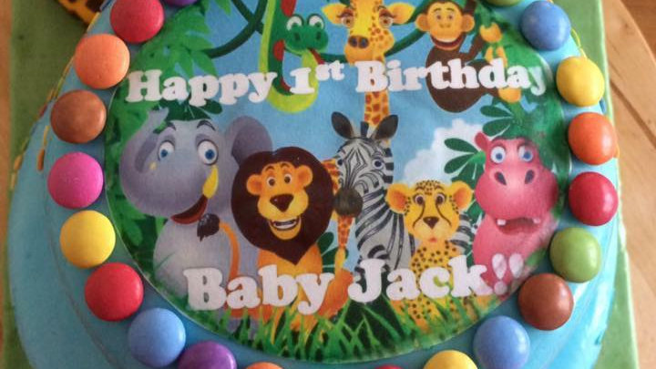 Disney Jungle Animal Cake