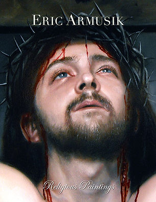 Religious Paintings art book by liturgical artist Eric Armusik