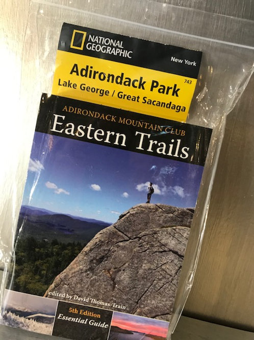 Eastern Trails (Lake George) Guide Book and Map Combo