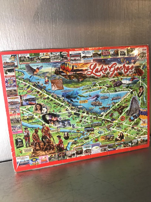 Lake George Postcard Puzzle