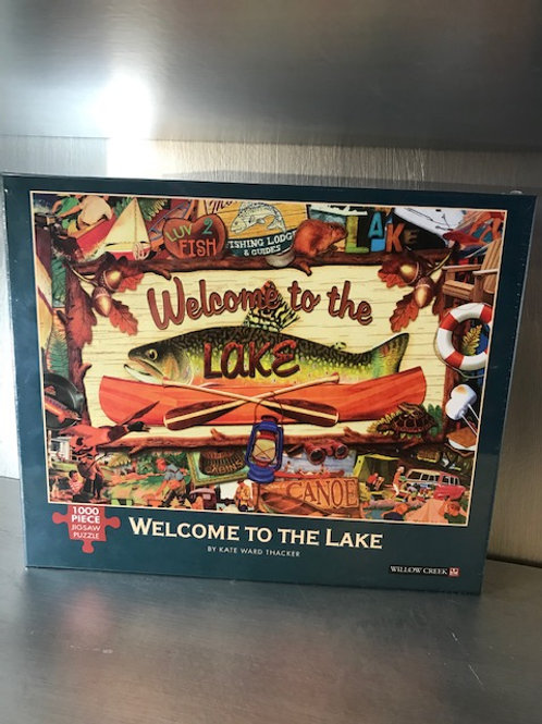 Welcome to the Lake Jigsaw Puzzle