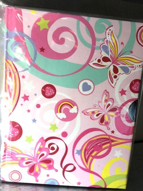 Fantasy Butterflies Locking Journal