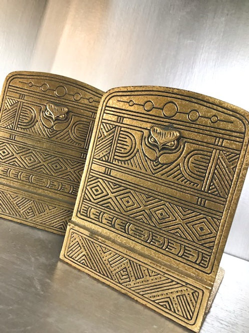 Tiffany Studios Signed Antique Art Deco Bookends