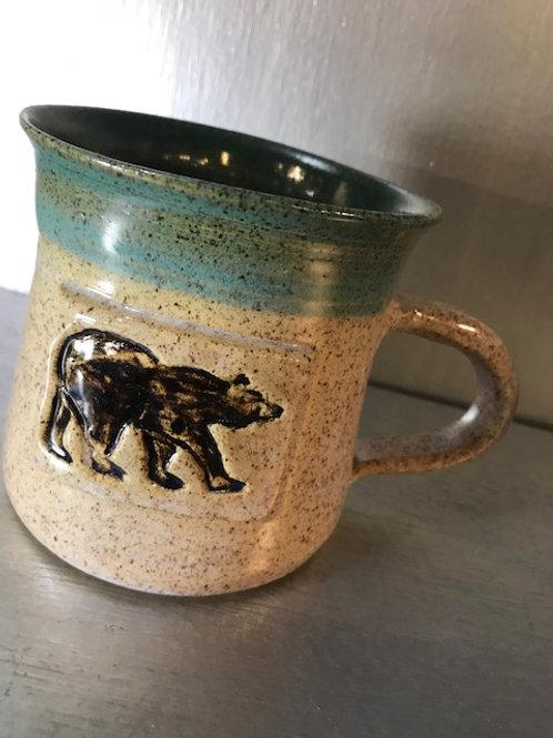 Fawn Ridge Pottery Bear Mug