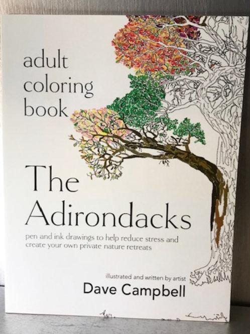 The Adirondacks Adult Coloring Book