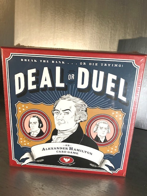 Deal or Duel - An Alexander Hamilton Card Game