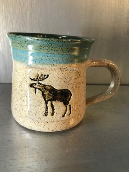 Fawn Ridge Pottery Moose Mug