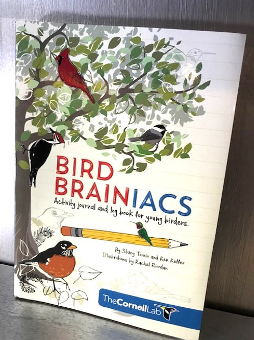 Bird Brainiacs Activity Journal and Log for Young Birders