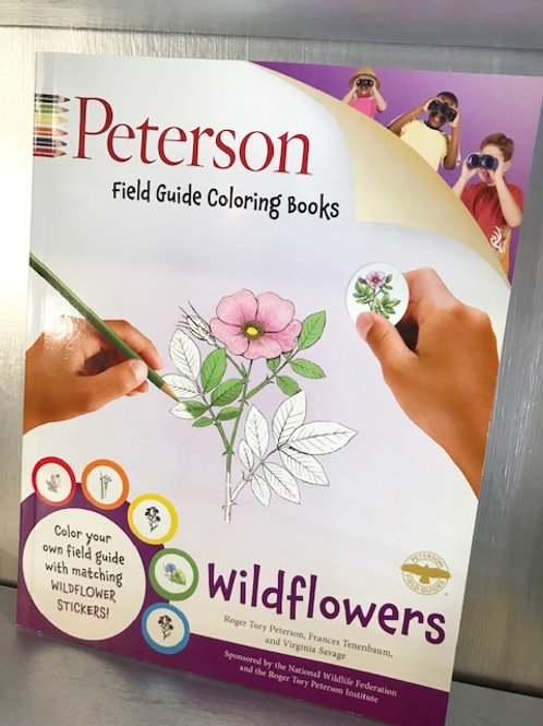 Wildflowers: Peterson Field Guide Coloring Book