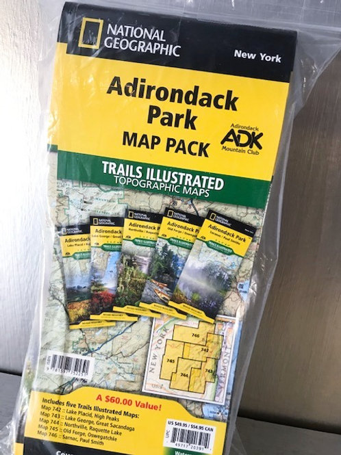Nat Geo Adirondack Park Map Pack