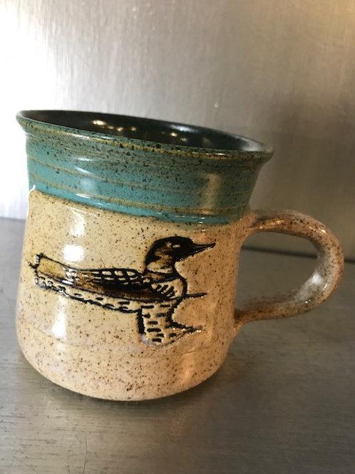 Fawn Ridge Pottery Loon Mug