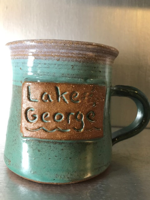 Fawn Ridge Pottery Lake George Mug
