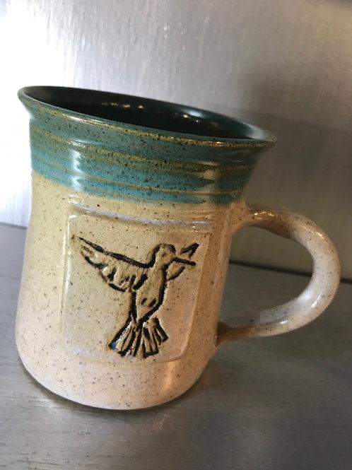 Fawn Ridge Pottery Hummingbird Mug