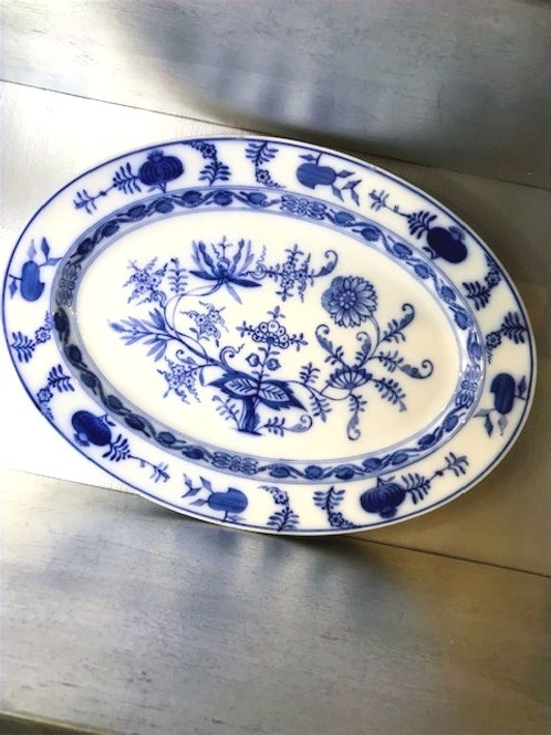 "Villeroy & Boch Blue Onion 16.5"" Serving Platter"